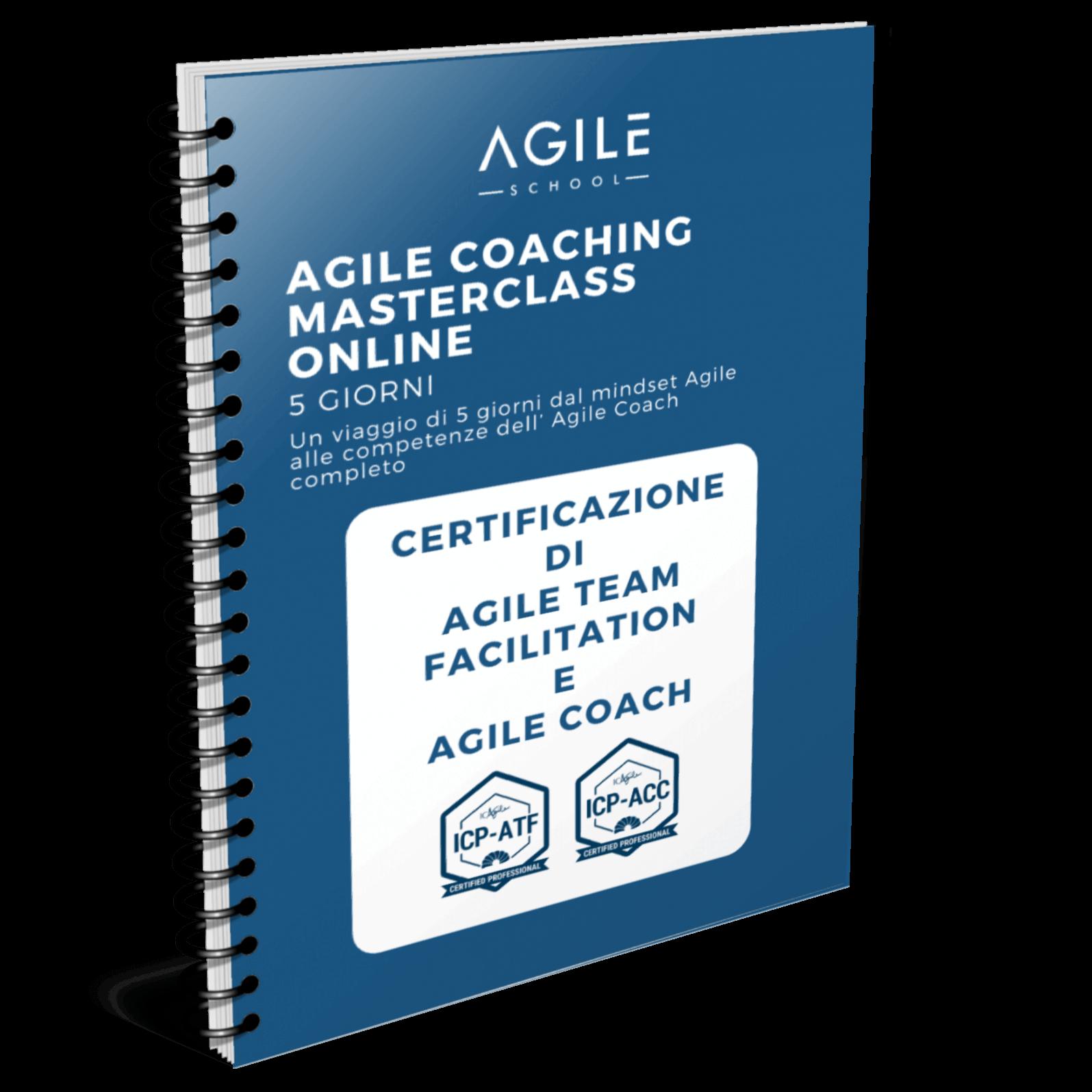 Agile Team Coach Masterclass brochure